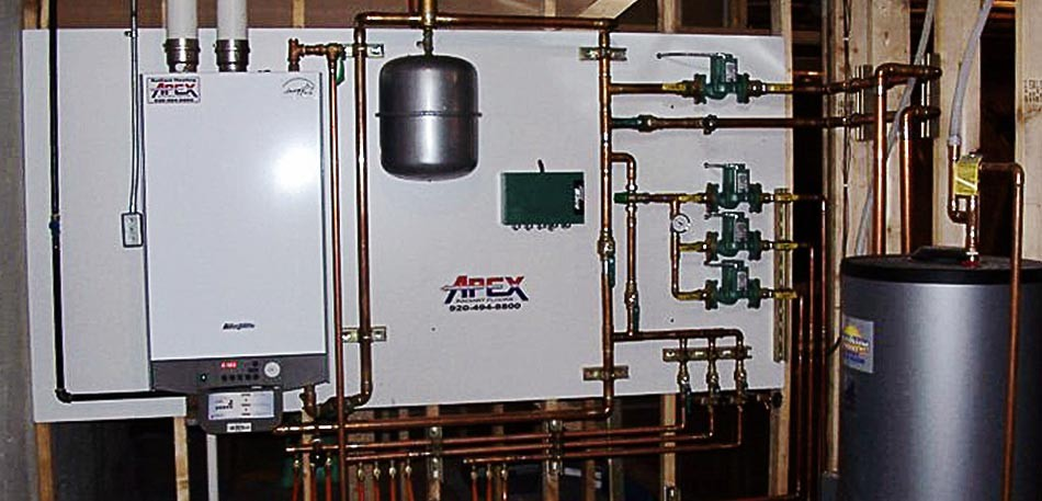Gas Boiler Furnaces in Green Bay & the Fox Cities by Apex Heating