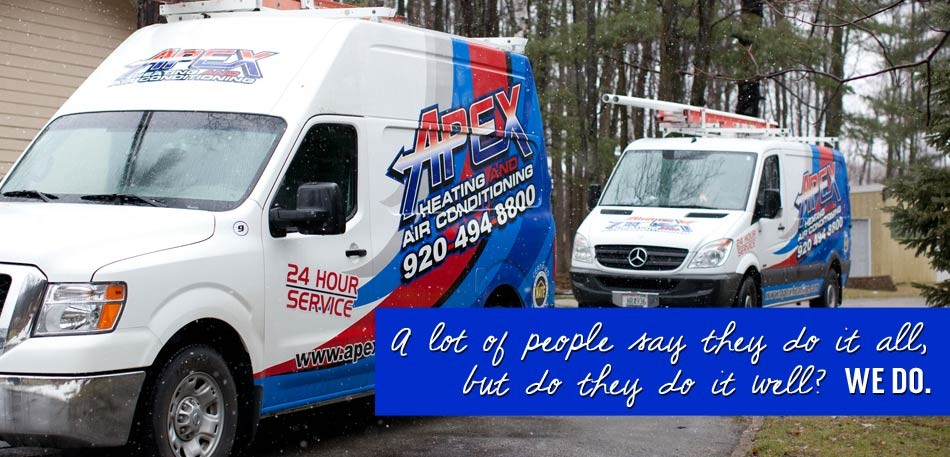Apex Heating & Air Conditioning Featured Services
